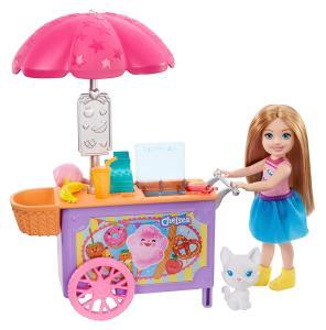 Barbie - Barbie Chelsea Snack Cart
