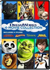 Dreamworks 4-Movie Collection [Edizione in lingua inglese]