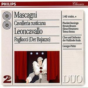 Pietro Mascagni / Ruggero Leoncavallo - Cavalleria Rusticana / Pagliacci (2 Cd)