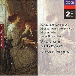 Sergej Rachmaninov - Music For Two Pianos (2 Cd)