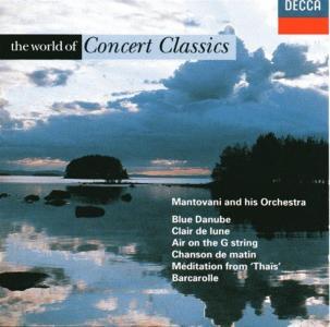 Mantovani & Orchestra - World Of Concert Classics