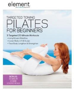 Element: Targeted Toning Pilates For Beginners [Edizione in lingua inglese]