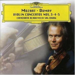 Augustin Dumay And Wolfgang Amadeus Mozart -