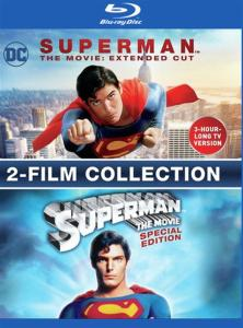 Superman The Movie: Extended Cut & Special Edition (2 Blu-Ray) [Edizione in lingua inglese]