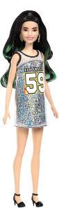 Mattel FXL50 - Barbie - Fashionistas - Silver Jersey