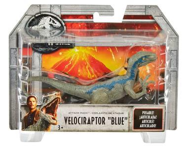 Mattel FPF12 - Jurassic World - Jurassic World - Attack Pack - Velociraptor