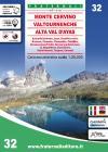 Carta N. 32. Monte Cervino, Val Tournenche, Alta Val D'ayas