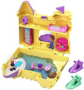 Mattel GCJ87 - Polly Pocket - Playset Tascabile - Castelli Di Sabbia