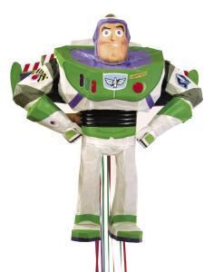 Buzz Lightyear di Toy Story, ca. 50x42x22cm, costume del partito Toystory Pullpinata