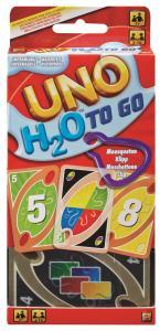 Mattel: Uno - H2O - Carte Impermeabili Con Clip