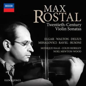 Max Rostal - 20Th Century Violin Sonatas (2 Cd)