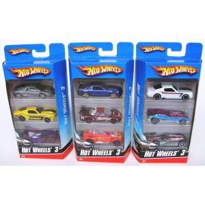 Mattel K5904 - Hot Wheels - Confezione 3 Veicoli