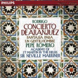 Rodrigo / Romero / Marriner / - Concierto De Aranjuez