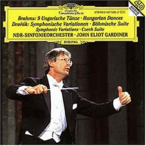 Johannes Brahms / Antonin Dvorak - Hungarian Dances / Symphonic Variations, Czech Suite