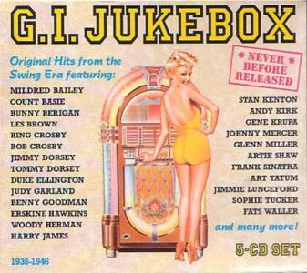 G.I. Jukebox: Original Hits From Swing Era / Various (5 Cd)