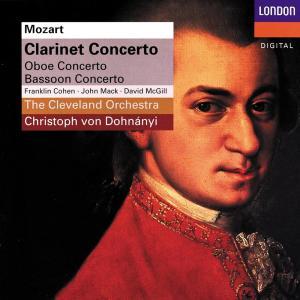 Wolfgang Amadeus Mozart - Clarinet Concerto, Oboe Concerto, Bassoon Concerto