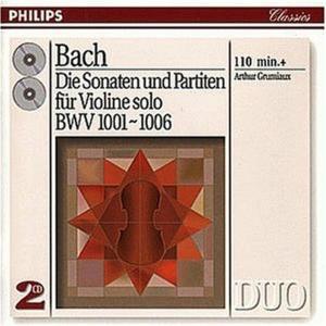 Johann Sebastian Bach - Die Sonaten Und Partiten Fur Violine Solo (2 Cd)