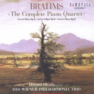 Johannes Brahms - Complete Piano Quartets