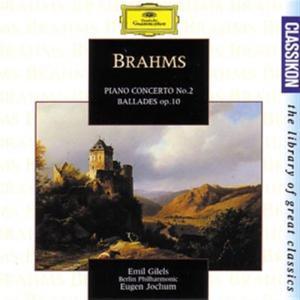 Johannes Brahms - Piano Concerto No.2, Ballades