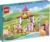 Le Scuderie Reali Di Belle E Rapunzel (43195-disney Princess)