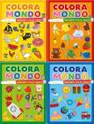 Il Mio Mondo-coloro La Natura-coloro Gli Animali-i Miei Colori. Coloramondo. Ediz. A Colori. Con 6 Pennarelli