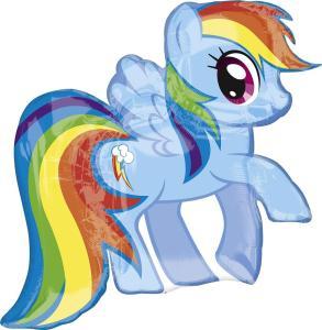 My Little Pony: Palloncino Sagomato Mylar Rainbow