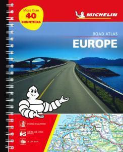 Europe. Roads atlas. Ediz. a spirale
