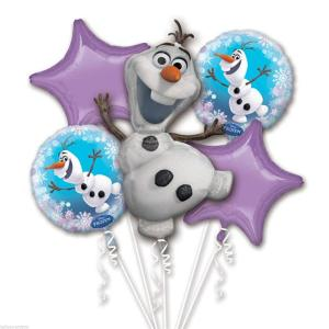Disney: Frozen - Palloncino Bouquet Olaf (5 In 1)