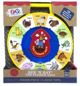 Fisher Price Classic See N Say Farmer Says