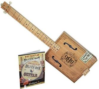 Electric Blues Cigar Box Slide Guitar Kit