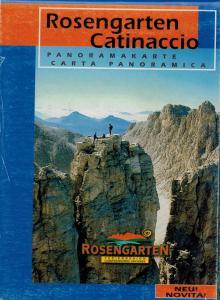 Catinaccio - Carta panoramica
