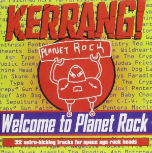 Kerrang! Welcome To Planet Rock / Various (2 Cd)