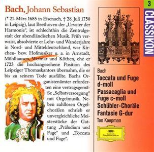 Johann Sebastian Bach - Great Organ Works (Koopman)