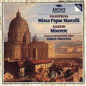 Palestrina - Missa Papae Marcelli - Preston