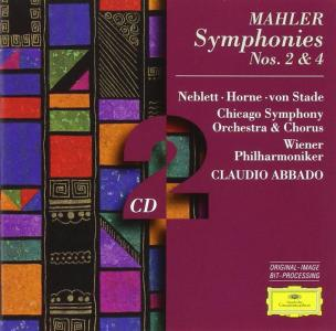 Gustav Mahler - Symphony No.2, 4 (2 Cd)