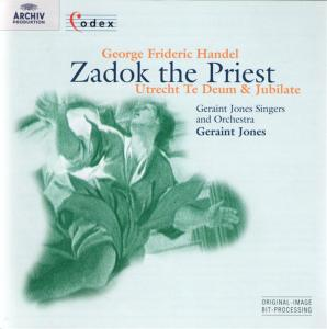 Georg Friedrich Handel - Zadok The Priest, Utrecht Te Deum Hwv 278 (1713)