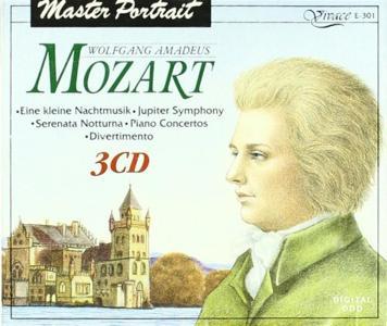 Wolfgang Amadeus Mozart - Piano Concertos, Jupiter SYmphony.. (3 Cd)