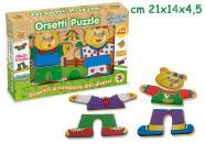 Teorema: Fatto Di Legno - Puzzle Orsetti 24pz