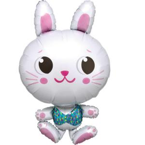 Pallone foil Supershape 55 x 86 cm Funny Bunny