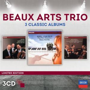 Beaux Arts Trio - 3 Classics Albums (Ltd. Edt.) (3 Cd)