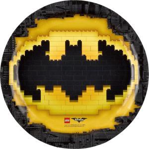 8 Plates Lego Batman, 23Cm