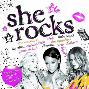 She Rocks / Various (2 Cd)