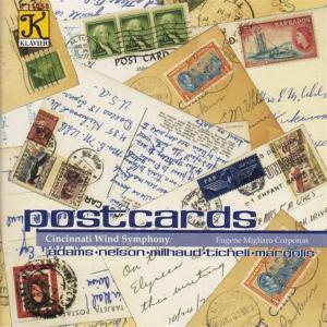 Postcards: Adams, Nelson, Milhaud..