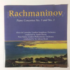 Sergei Rachmaninov - Piano Concertos No.3 And No.1
