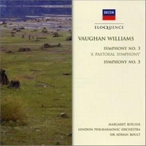 Adrian Boult - Symphony No. 3, '(A) Pastoral Symphony' & Symphony No. 5 In D