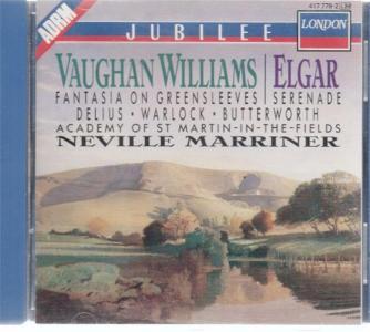 Ralph Vaughan Williams / Edward Elgar - Fantasia On Greensleves / Serenade