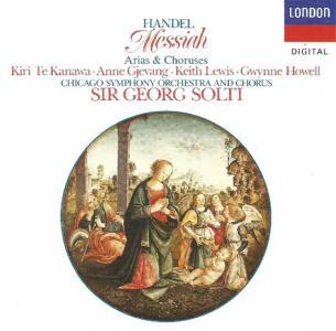 Georg Friedrich Handel - Messiah Arias And Choruses