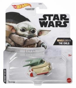 Star Wars: Hot Wheels - Mandalorian The Child Character Car