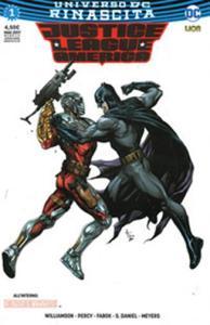 Rinascita. Justice League America. Ultravariant. Vol. 1