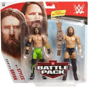 Wwe: Battle Pack Daniel Bryan Vs Aj Styles (Figure)